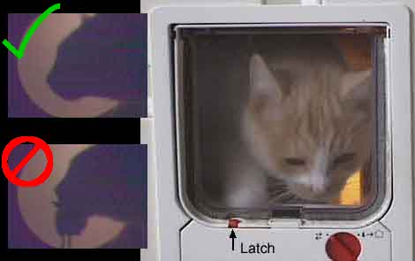 Facial-Recognition-Cat-Door  Leave the mice outside with facial recognition cat door