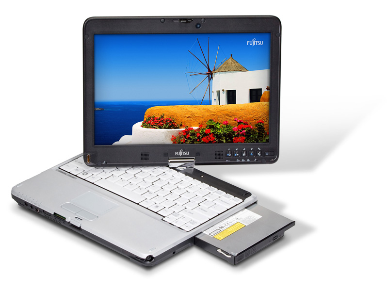 t730_odd_out Fujitsu T730 LifeBook Tablet PC gets Core i5 and i7 processors
