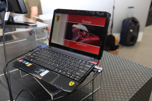 acer-ferrari-one-netbook05 Acer, Ferrari unveil Liquid E Android smartphone, 64-bit Ferrari One netbook