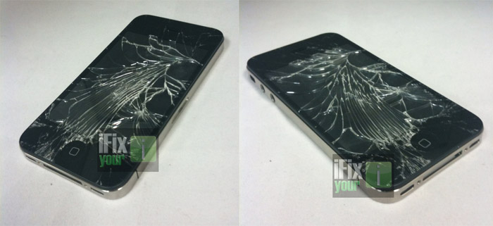 ifixyouri-iphone4 iPhone 4 display smashed, but was it the real deal?