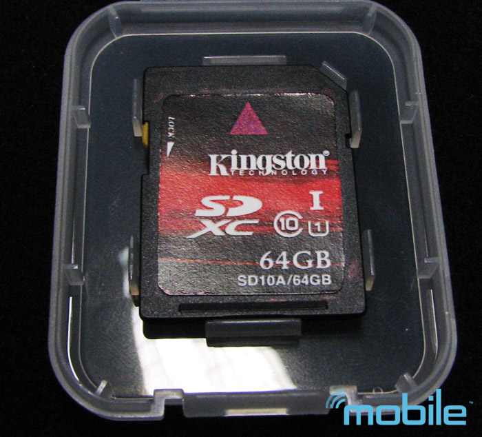 kingston-sdxc Kingston shows 64GB SDXC memory card at Computex