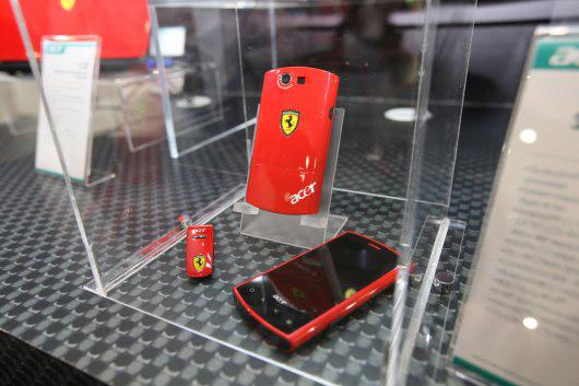 liquid-e-02 Acer, Ferrari unveil Liquid E Android smartphone, 64-bit Ferrari One netbook