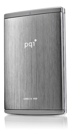 pqi-stock 103MB/sec claimed with PQI TurboHDD USB 3.0 portable hard drive