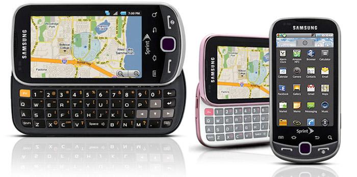 samsung-intercept  First look: Samsung Intercept Android 2.1 phone for Sprint