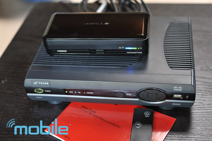 trulink-telus Review: TruLink 60GHz wireless HD Kit puts your TV exactly where it should be