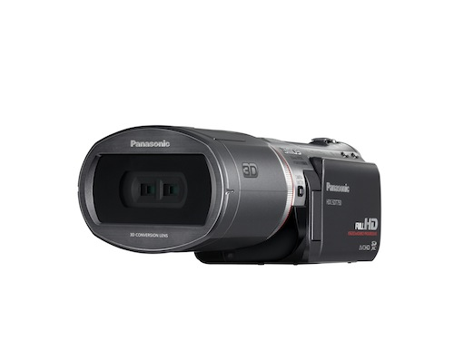 3dcam_slant_c_high Panasonic announces first 3D video consumer camcorder arriving in October for $1400