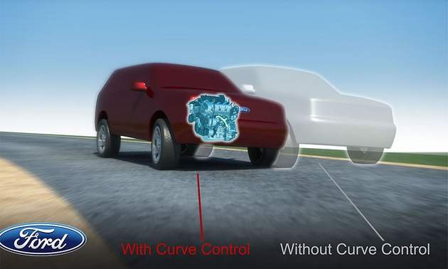curve-control 2011 Ford Explorer first to debut Curve Control technology