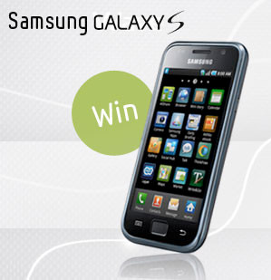galaxy-s-sweepstakes  Samsung offering free Galaxy S for iPhone 4 haters