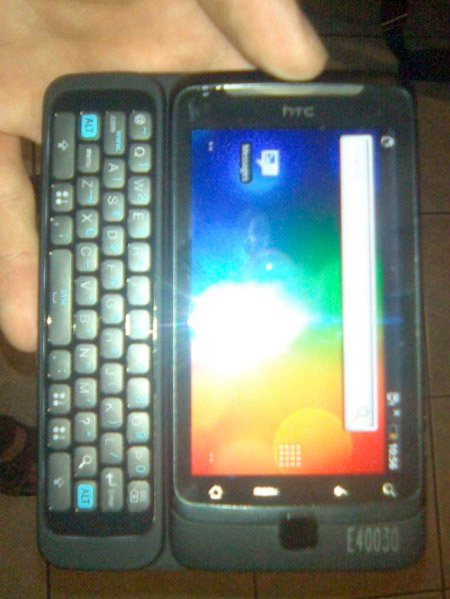 htc-vision First look: HTC Vision smartphone with QWERTY, Android 2.1