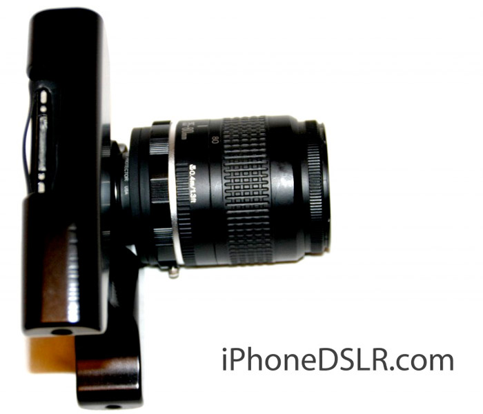iphonedslr Guy makes iPhone into a DSLR, but why