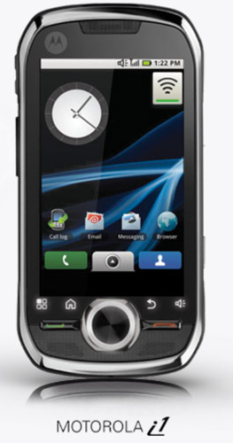 motorola-i1-sprint Sprint push-to-talk Motorola i1 Android phone coming Sunday