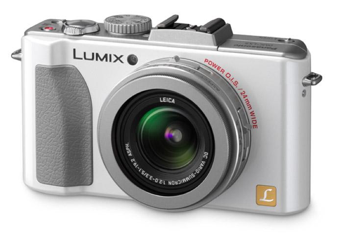 panasonic-lumix-lx5  Panasonic Lumix LX5 camera sports Leica lens