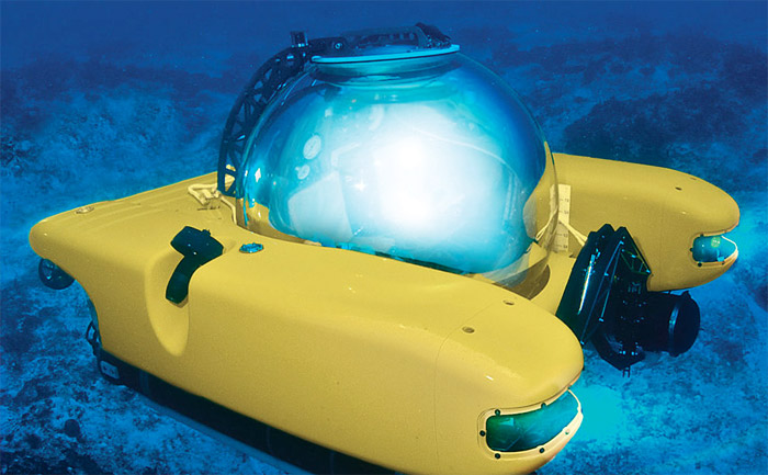 personal-submarine Personal underwater sub is only $2,000,000