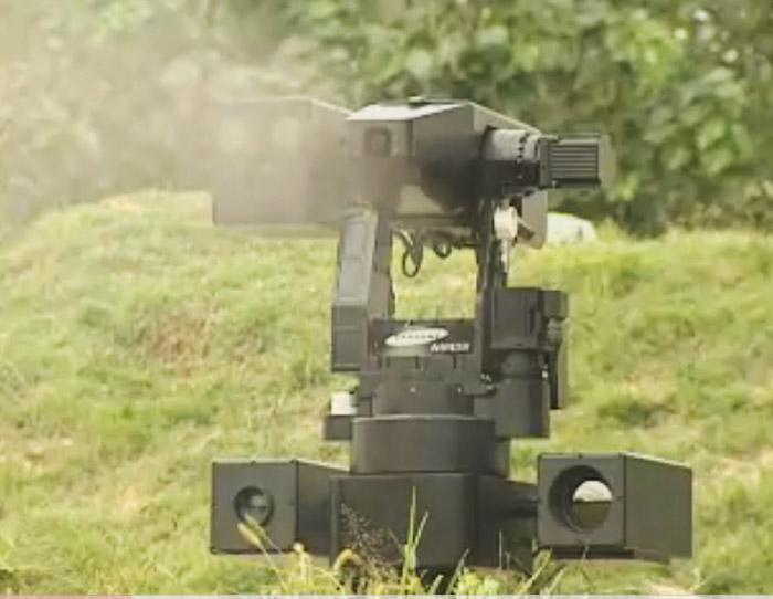 sgr-a1 South Korea deploys grenade launching robots at border