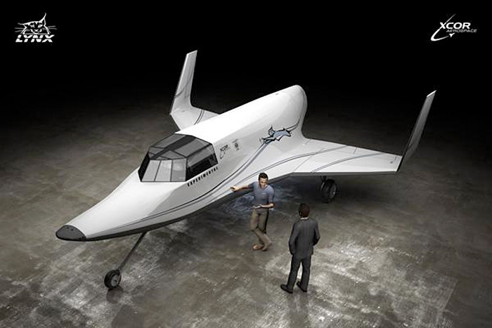 xcor-spacecraft Interested in visiting outerspace?  $95,000 will get you there in 2012