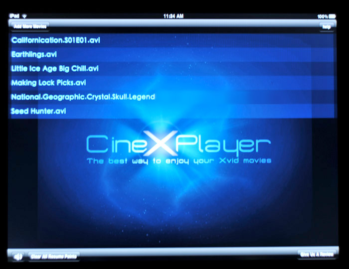 cinexplayer-03 How to watch .avi (Xvid) movies on your iPad