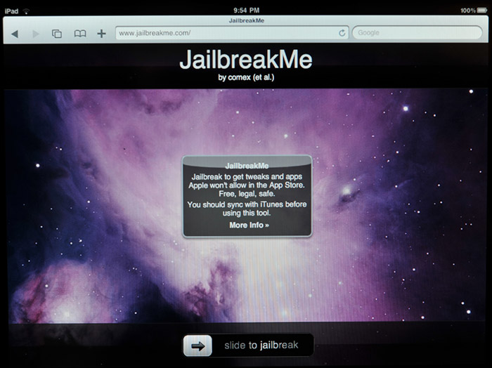 jailbreakme-01 JailbreakMe takes advantage of iOS security flaw: Why you need to worry about it