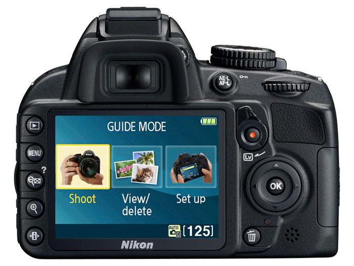 nikon-D3100_G_mode_E_1 Nikon D3100 14.2 megapixel DSLR with HD Video makes a friendly, learning experience
