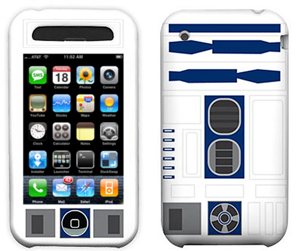 r2d2-iphone Apple iPhone gets official R2-D2 Star Wars case, with no head
