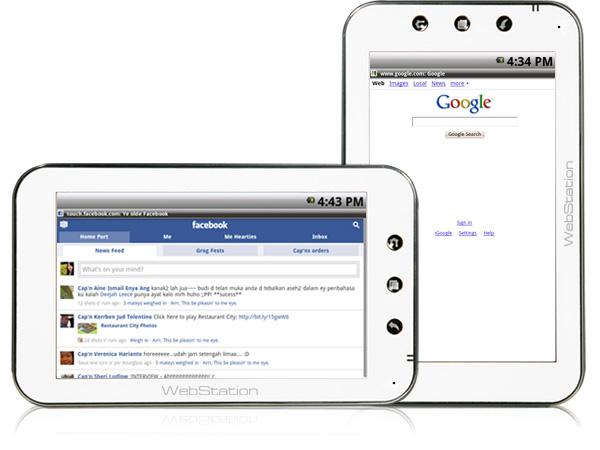 webstation1 Specs released for Camangi WebStation II Android tablet