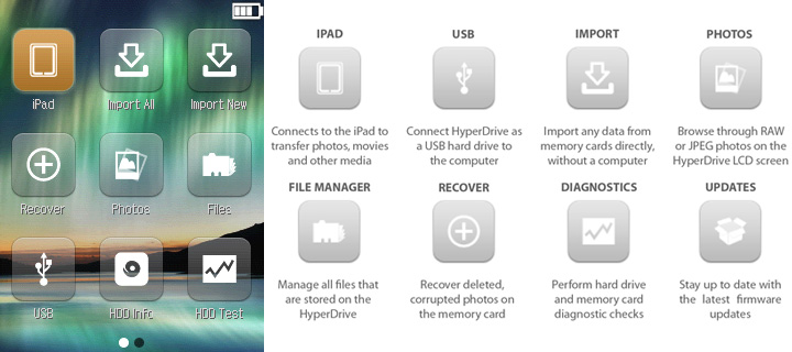 IPHD-Main  HyperDrive adds card reader, hard drive to Apple iPad