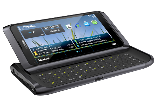 Nokia-E7-540 Nokia reveals three new Symbian^3 phones: E7, C6-01, C7