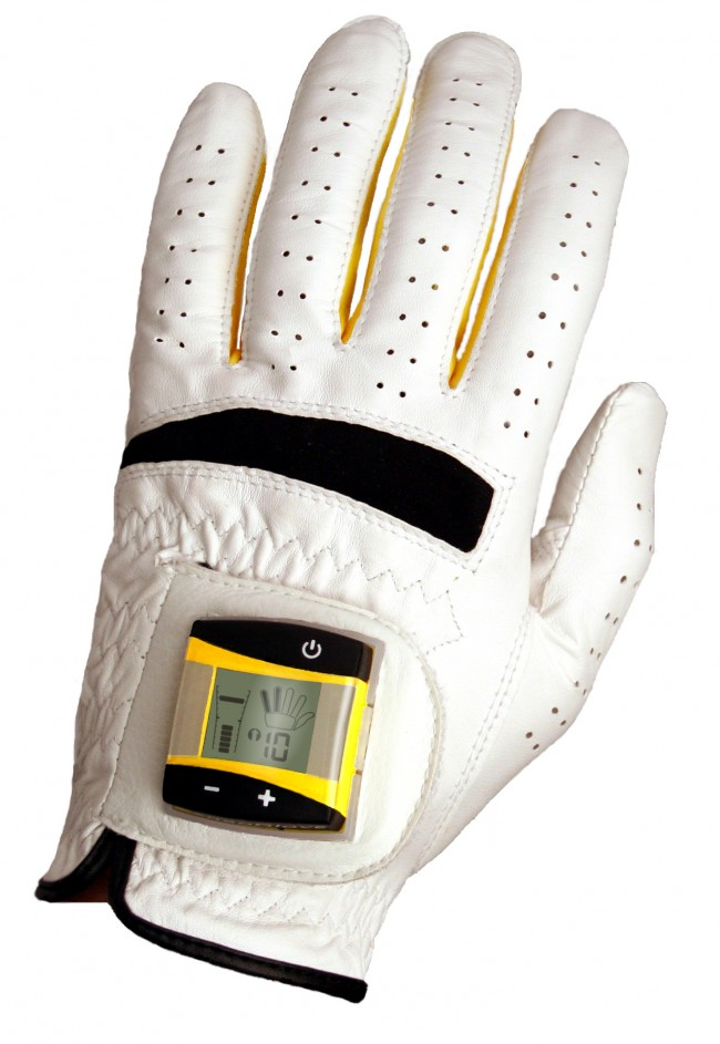 SensoGlove-Photo-650x943 SensoGlove golf aid monitors 'death grip' with digital glove sensors