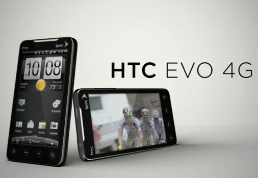 Sprint-HTC-EVO-4G First LTE smartphone from HTC scheduled for 2011 release
