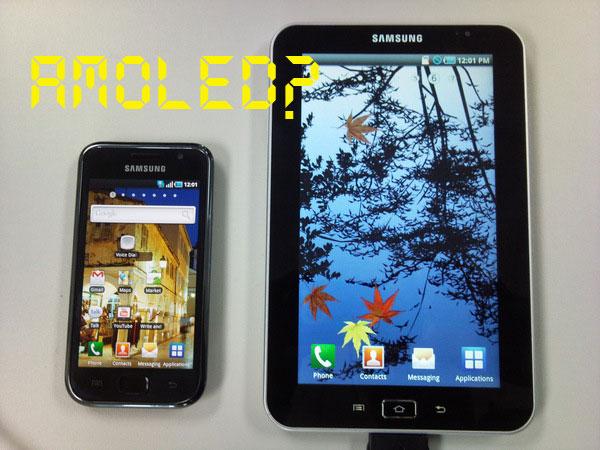galaxytab-amoled  Samsung Galaxy Tab Android tablet to rock AMOLED display?
