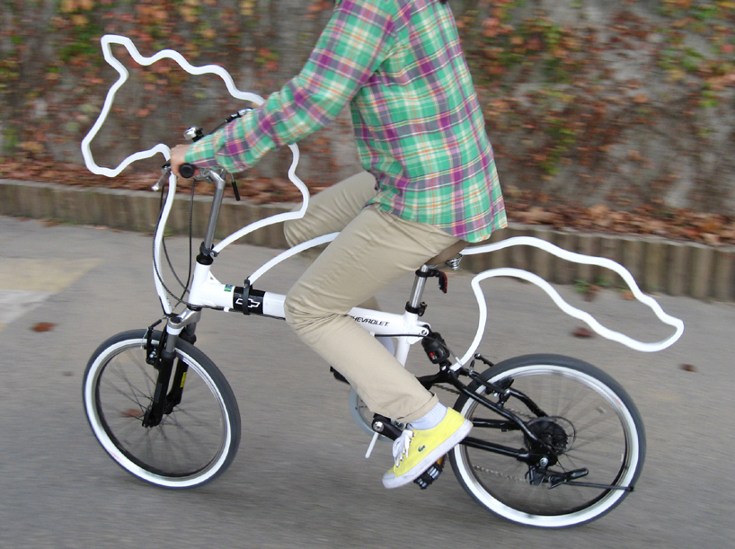 horsey01 Unicorn bicycle mod gives me that 'warm and fuzzy' feeling