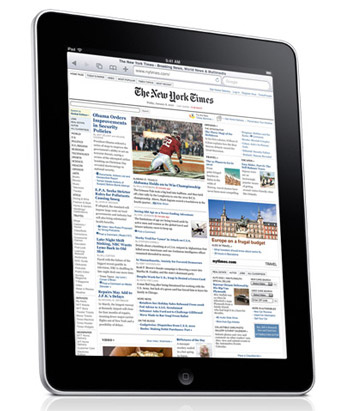 ipad-newspaper Newspaper subscriptions coming to iPad and iPhone?