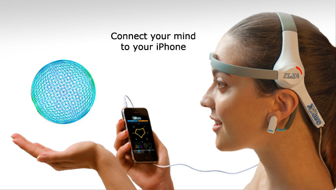 plx-wave-headset Mind control technology is here, and of course, it works with your iPhone