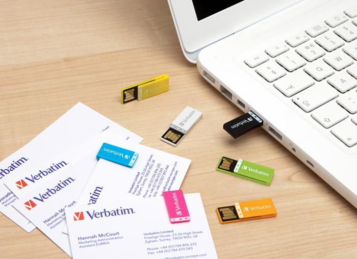 verbatim-clipit-01 Verbatim's Clip-it USB drive keeps flash memory designs fresh