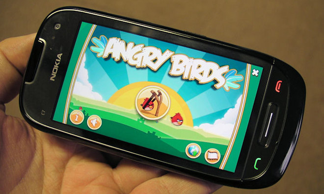 angrybirds-nokia  Angry Birds gets flung onto Nokia Symbian^3 devices