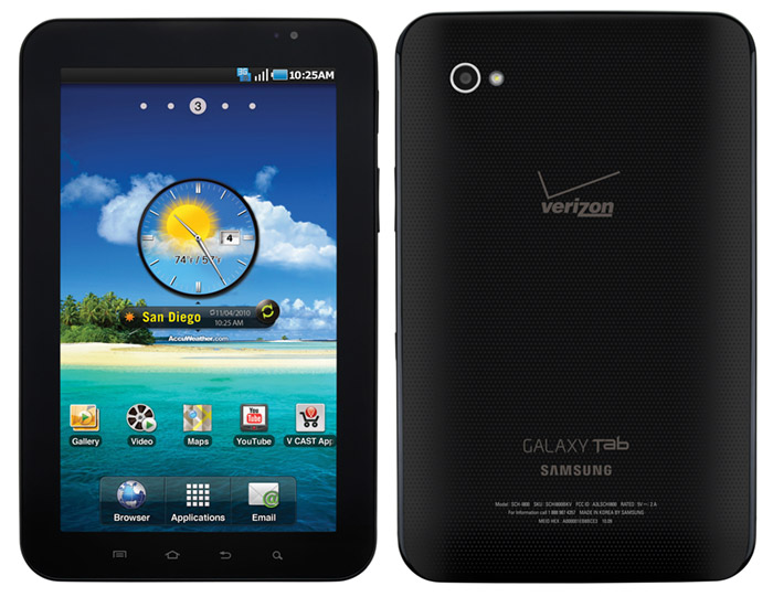 galaxy-tab-vzw-nov11 Samsung Galaxy Tab is $600 this November 11 on Verizon Wireless