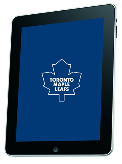 leafs-ipad  Toronto Maple Leafs coach uses iPad for coaching