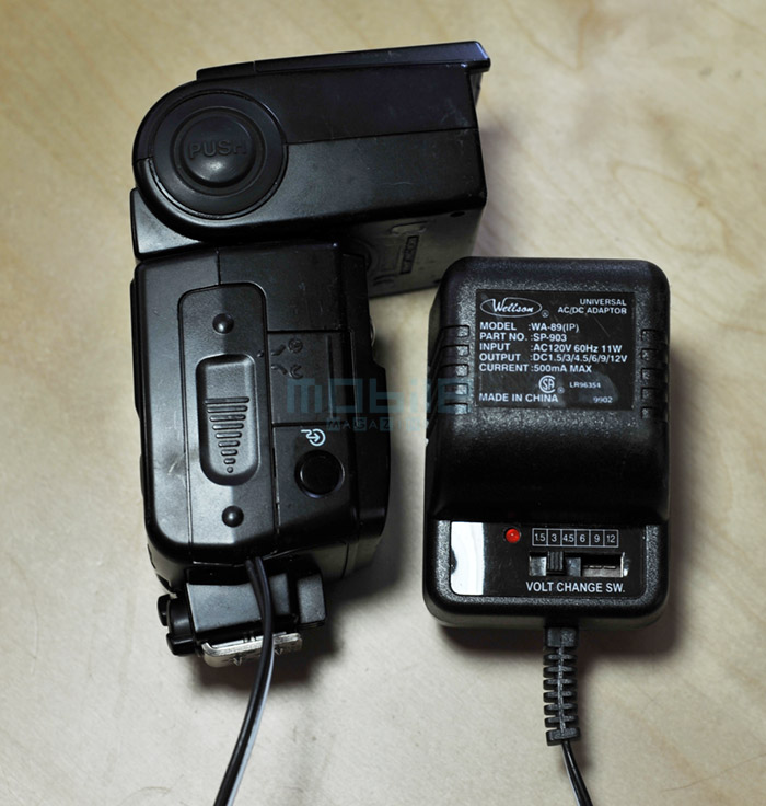 mod-sb600-06 Nikon SB-600 Flash AC/DC power modification