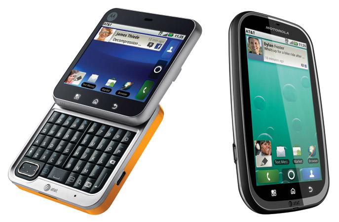 motorola-att Three new Motorola Android smartphones arrive at AT&T