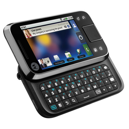 motorola-flipside Motorola Flipside Android phone announced by AT&T for $99