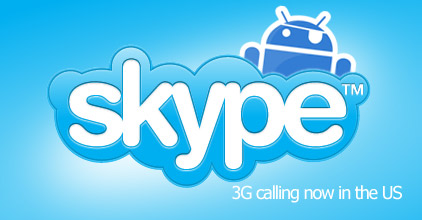 skype-android-unlocked Skype for Android hacked and cracked to allow 3G calling