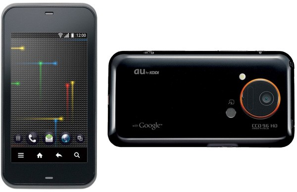 toshiba-is03-kddi Google Android + retina display = Sharp IS03 smartphone
