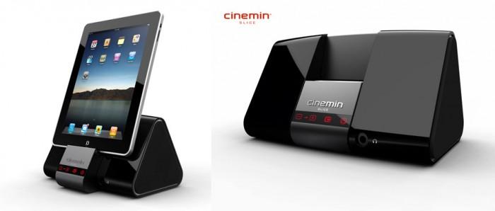 cinemin-projector-700x298  Cinemin Slice pico projector iPad dock