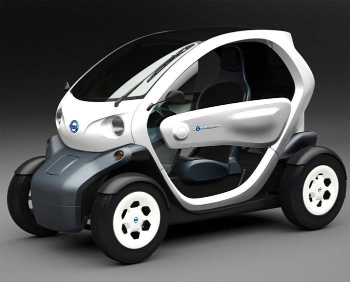 nissan-newmobconcept-1  Nissan's Twinzy EV concept: Smart Car meets golf cart?
