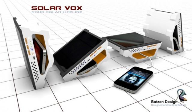 4-angles2-640x373  Solar Vox solar USB charger concept tilts to face the sun