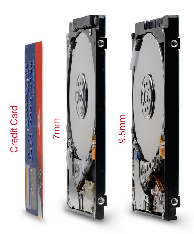 7mm_sidebyside-sm Hitachi Travelstar superslim 500GB mobile hard drive is just 7mm