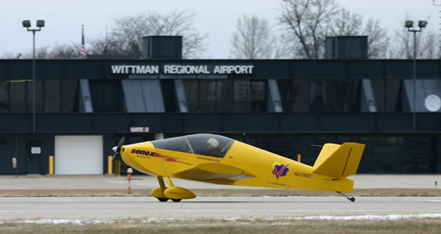 N270DC_First_Flight Electric-powered Waiex aircraft took first flight