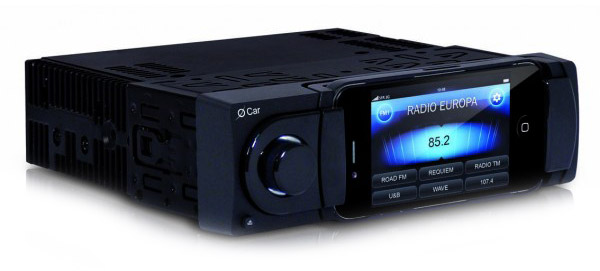 O-Car O'Car literally converts your iPhone into a fully functional car stereo