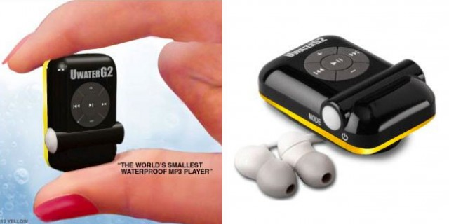 UWaterG2-640x320 World's smallest waterproof MP3 player clips to your goggles