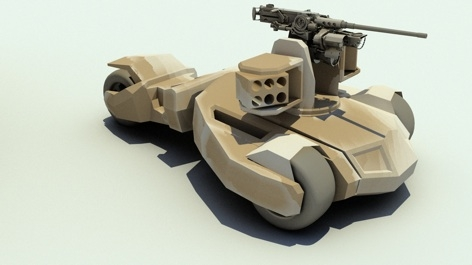 bae_raider_concept Dark Knight movies inspire new wave of defense vehicles