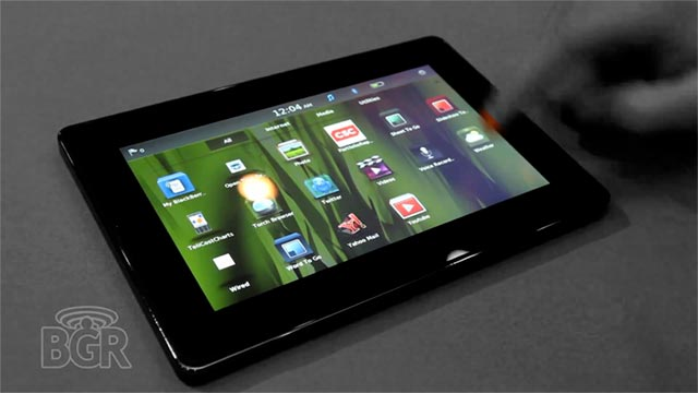 bb-playbook-video  Hands-on with BlackBerry PlayBook tablet (video)